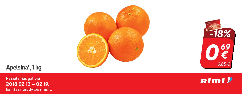 RIMI prekybos centre  - nuolaida apelsinams!