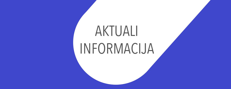 Aktuali informacija
